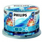Philips CD-R cake box 50
