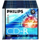 Philips CD-R slim case 10